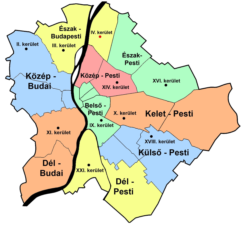 nyomtatható budapest térkép kerületek Klebelsberg Központ nyomtatható budapest térkép kerületek